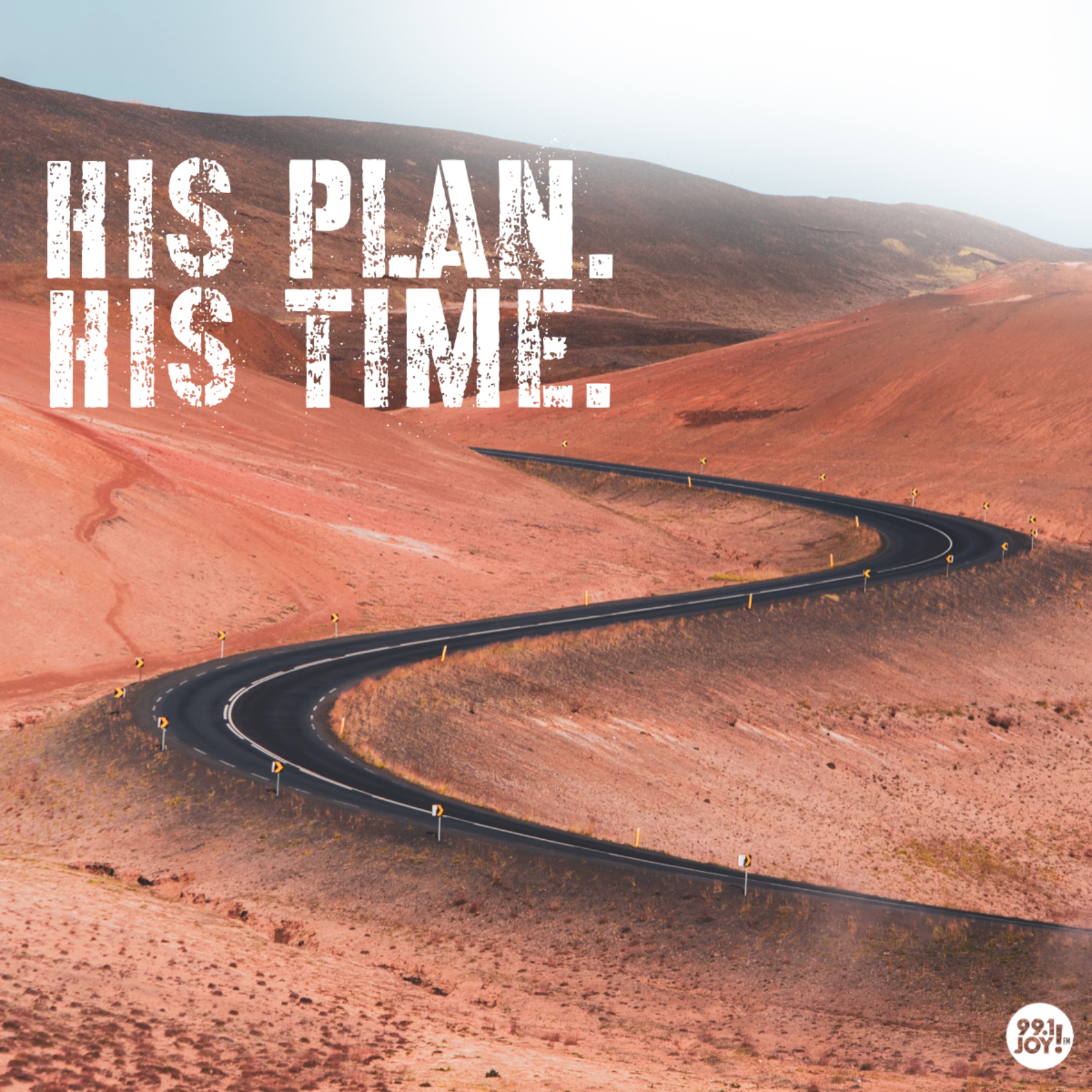 His Time. His Plan.